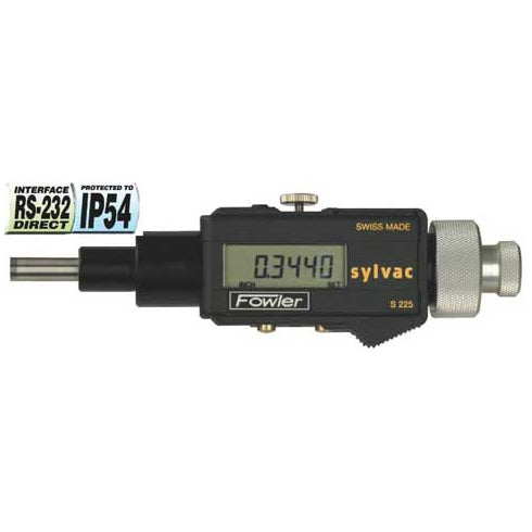 Fowler Electronic Micrometers - 0 - 2 Inch/50mm - Head