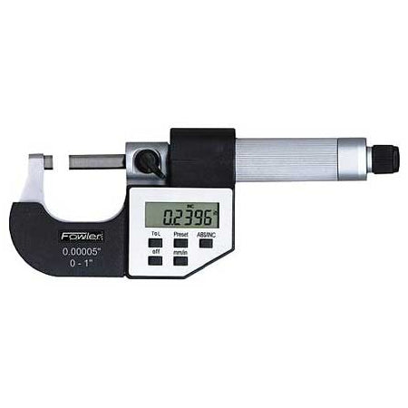 Fowler Electronic Micrometers - 3 - 4 Inch/75 - 100mm - Economy - Friction