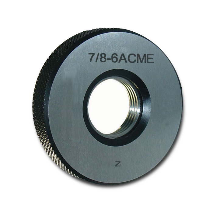 ACME Thread Ring Gage Set - 1.3750-4 - 3G <br /> GO / NOGO
