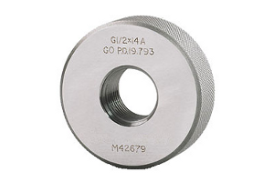 BSPP NoGo Solid Ring Gage - G2