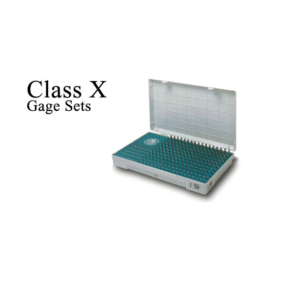 Meyer Class X Gage Pin Set - Inch - Steel