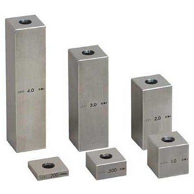 Individual Gage Block - .500 - Inch - Steel - 0 - Square