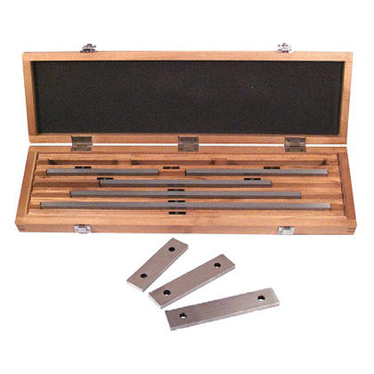 Fowler - Long Gage Block Set  - Inch - 8 - 0 - Rectangular - Long