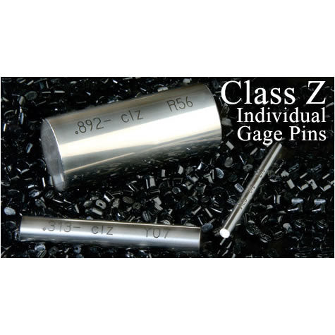 Individual Gage Pins - Inch - Steel - Z - .061 - .5005