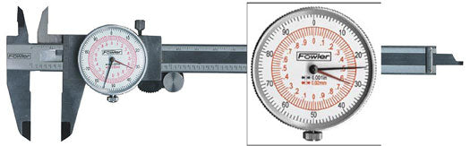 Dial Calipers - 12 / 300 - .001 Inch/.02mm