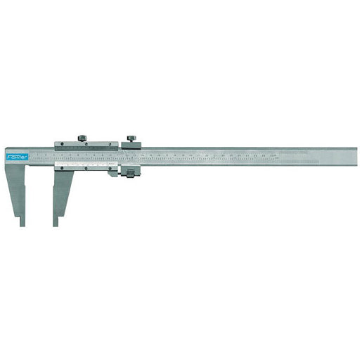 Vernier Fowler Calipers - 40 Inch / 1000mm - Master - .001 Inch & .02mm - 5 1/2 Inch