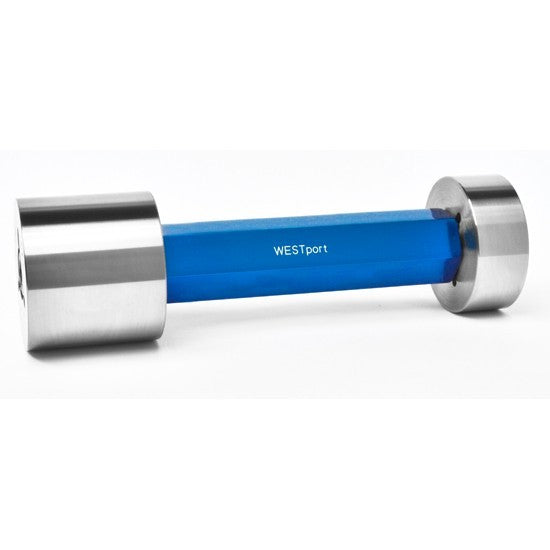 Trilock Cylindrical Plug Gages - Metric - Chrome - X - 19.05-24.05 - DOUBLE END