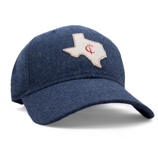 Criquet Mid Profile Hat - Navy Heather - Felt TX