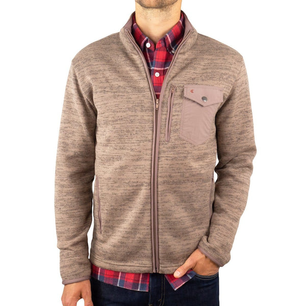 Sweater Fleece Jacket - Hall and Oats