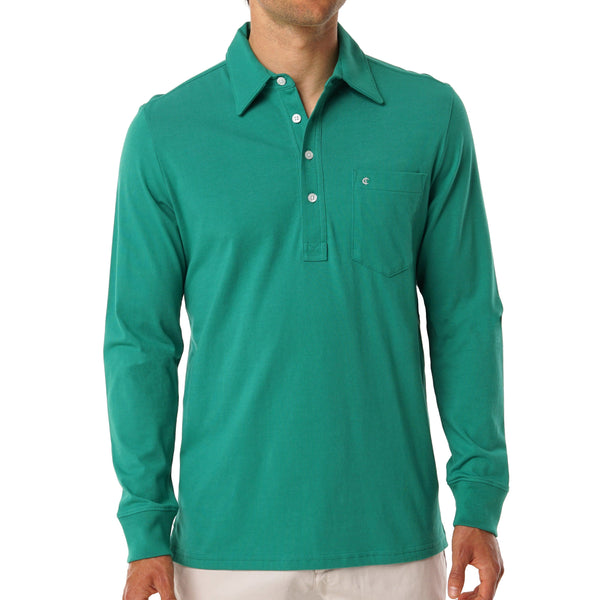 Spring Long Sleeve Players Shirt - Jolly Green