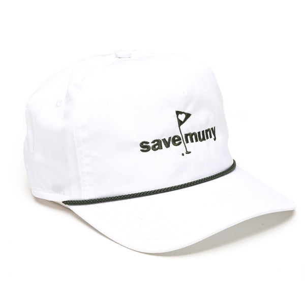"Criquet Rope Hat - ""Save Muny"""
