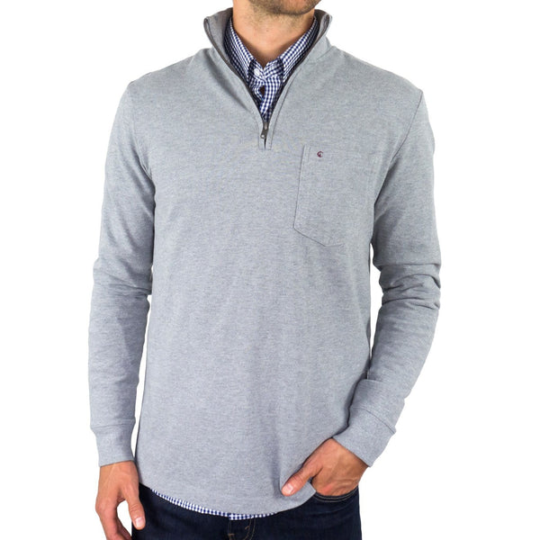 The V.I.P. Pullover - Heather Grey
