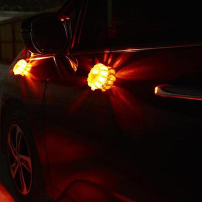 Magnetic LED Emergency Safety Flares