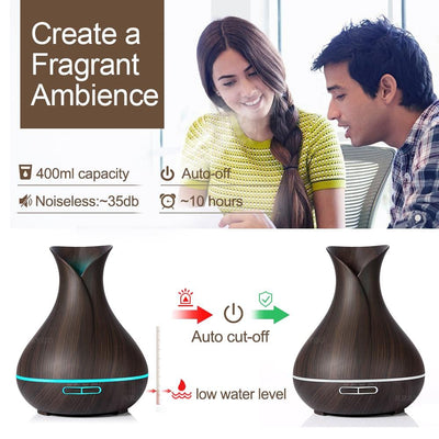Genie Bottle Shaped Essential Oil Diffuser