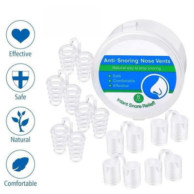 8Pcs/Box Anti Snoring Breathe Aid
