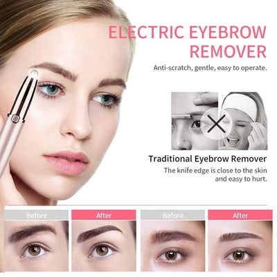 Painless Eyebrow Hair Removal