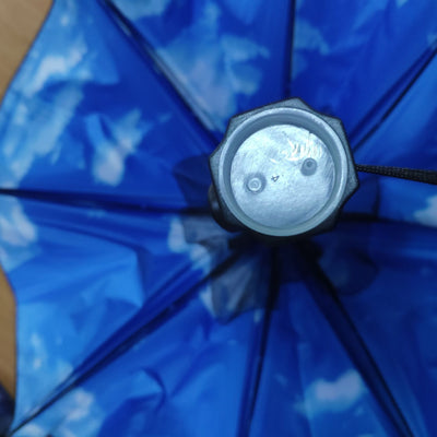 Summer Umbrella with Fan and Spray