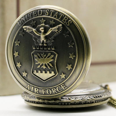 United States Air Force Pendant Pocket Watch