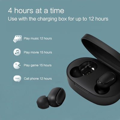 Wireless Bluetooth Noise Cancellation Earbuds