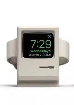 Old School Mac Lookalike Charging Dock For Apple Watch