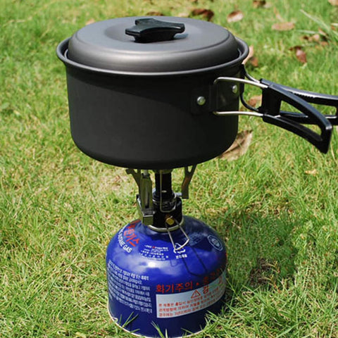 Portable Outdoor Picnic Gas Stove burners Foldable Camping Hiking Essentials Tools Outdoor Equipments Automatic