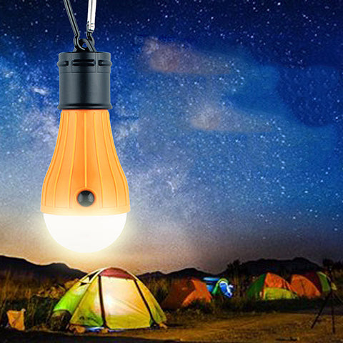 2017 New 3LED Multi-Functional Emergency Night Light Outdoor Lighting Camping Lights Tents Light Waterproof Hiking tools #EW