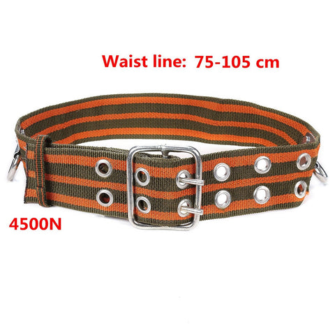 New Arrival Outdoor Safety Mountaineering Rock Climbing Harness Belt Equipment Adjustable Camping Hiking Climbing Accessories