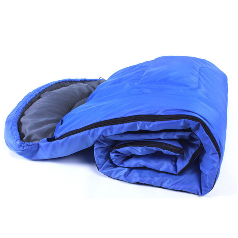 Brand new and high quality Outdoor Light Sleeping Bag Camp Hiking Carrying Case Blue Fall Spring Single#20