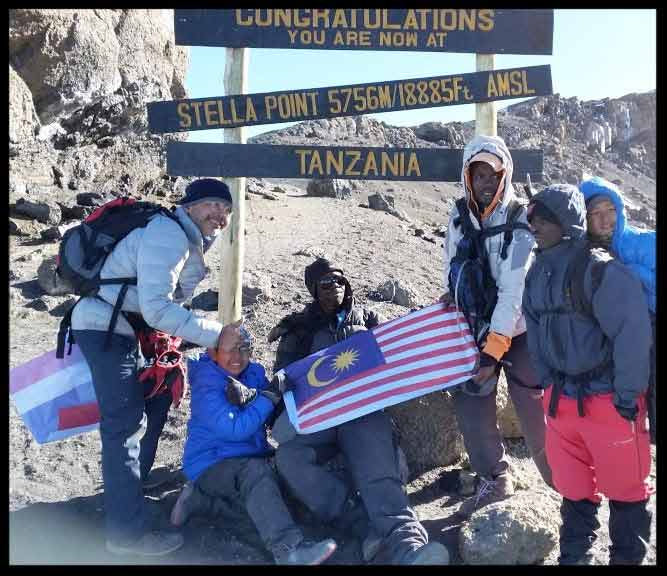 Zy Lee & The Freeloader Conquer Mount Kilimanjaro