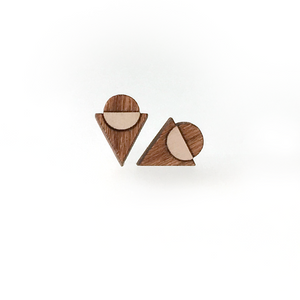Triangle/Circle Stud