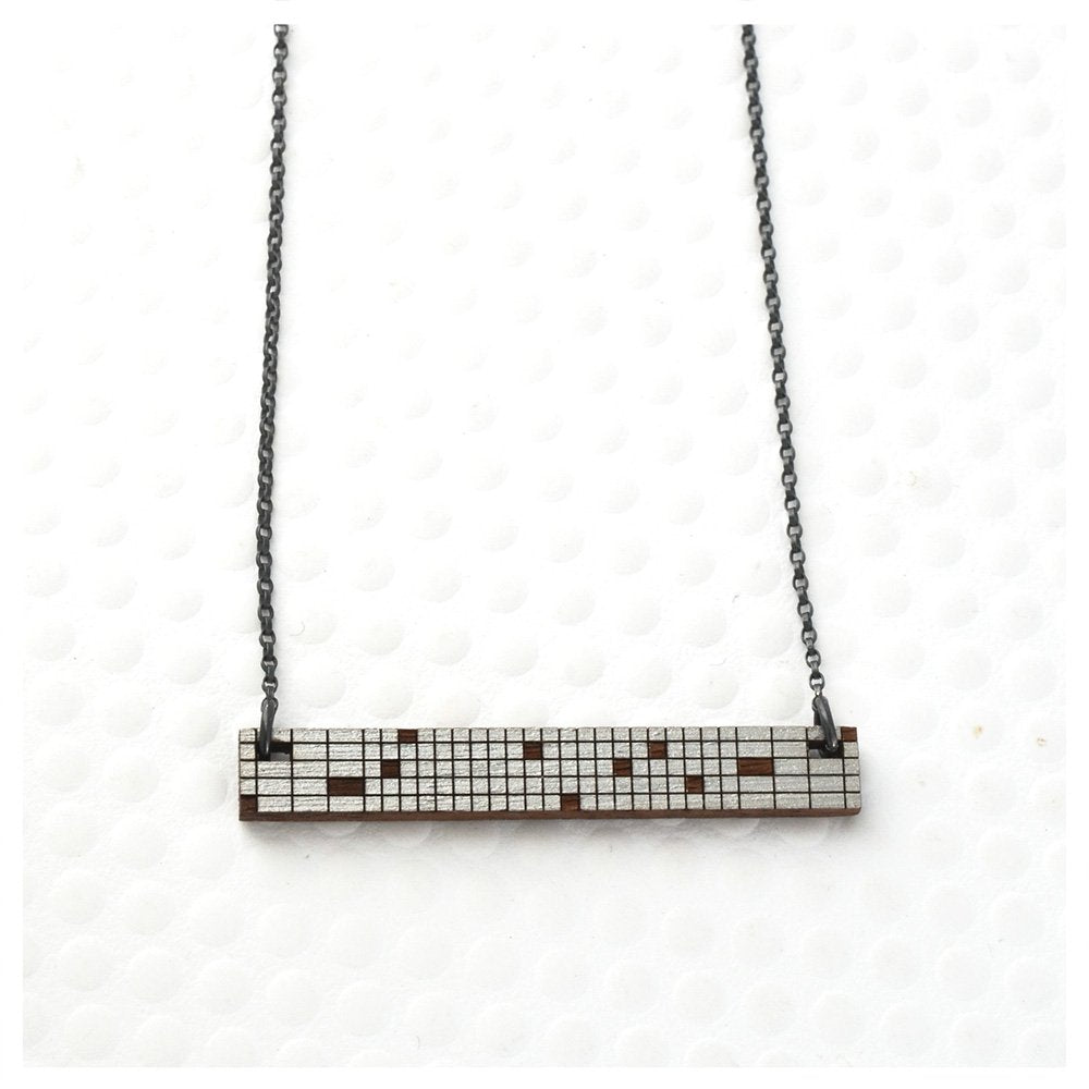 Metric Necklace