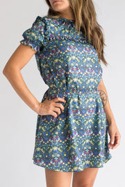 THE BLUE HEIGHTS DRESS