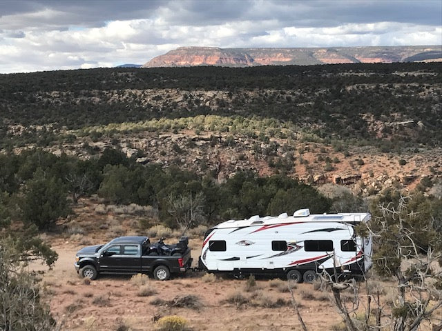 Backcountrysolar.com Adventure rig in the foothills in Utah