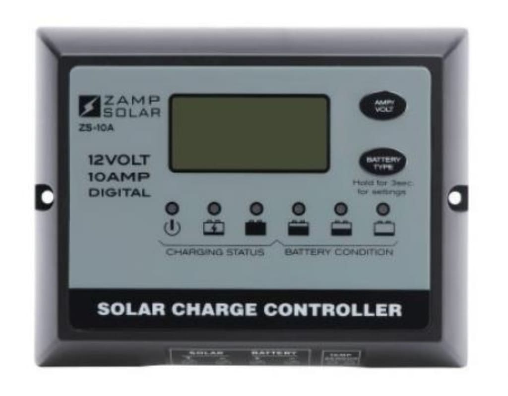 115 Watt Solar Ready Rv Solar Kit 15 Amp For Zamp Solar
