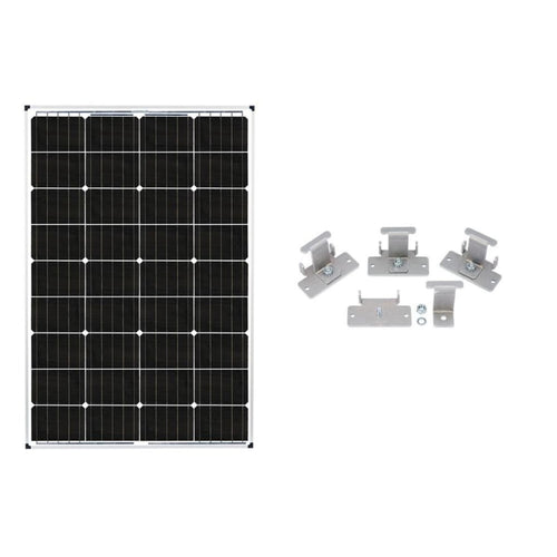 115 Watt Solar Ready RV Solar Kit for Zamp Solar Pre-Wired RVs - Solar Ready RV Solar Kits