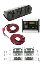 Load image into Gallery viewer, Zamp 90 Watt L Series Deluxe Kit Contents
