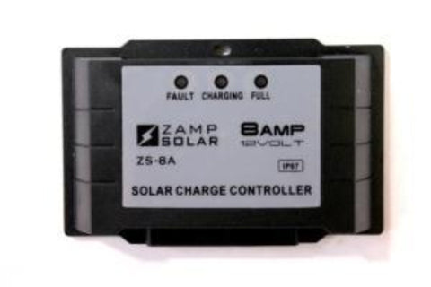 Zamp 8 Amp 5 Stage Waterproof Solar Charge Controller