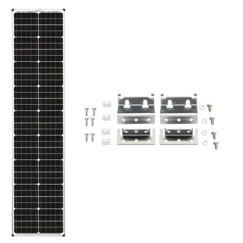90 Watt Airstream Solar Kit for Zamp Pre-Wired RVs - Solar Ready RV Solar Kits
