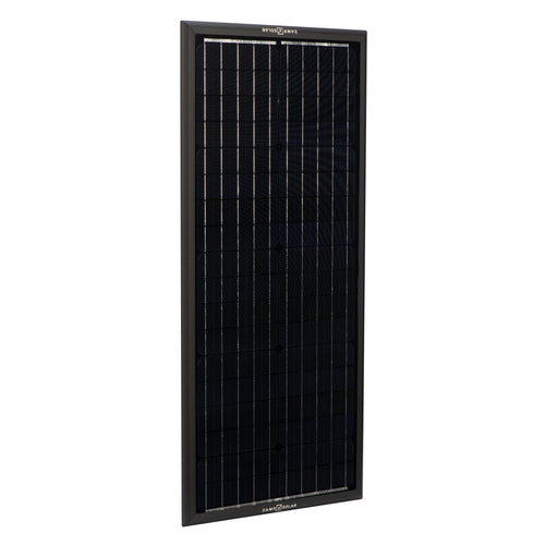 Obsidian Series by Zamp Solar 100 Watt Solar Panel