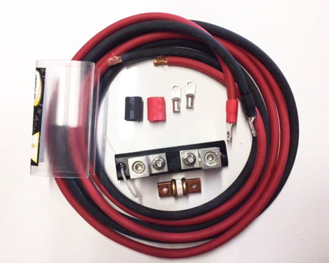 1000 Watt Inverter Installation Kit Includes 200 Amp Fuse