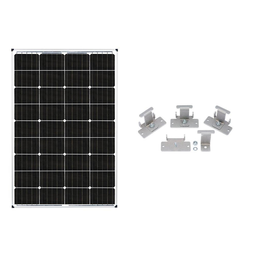 Zamp 115 Watt Expansion Panel Kit Back Country Solar