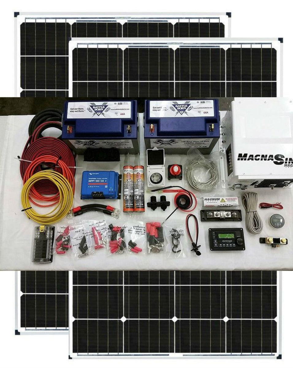 Van Conversion Solar Kit 230 Watt Back Country Solar