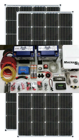Van Conversion Solar Kit 340 Watt Back Country Solar