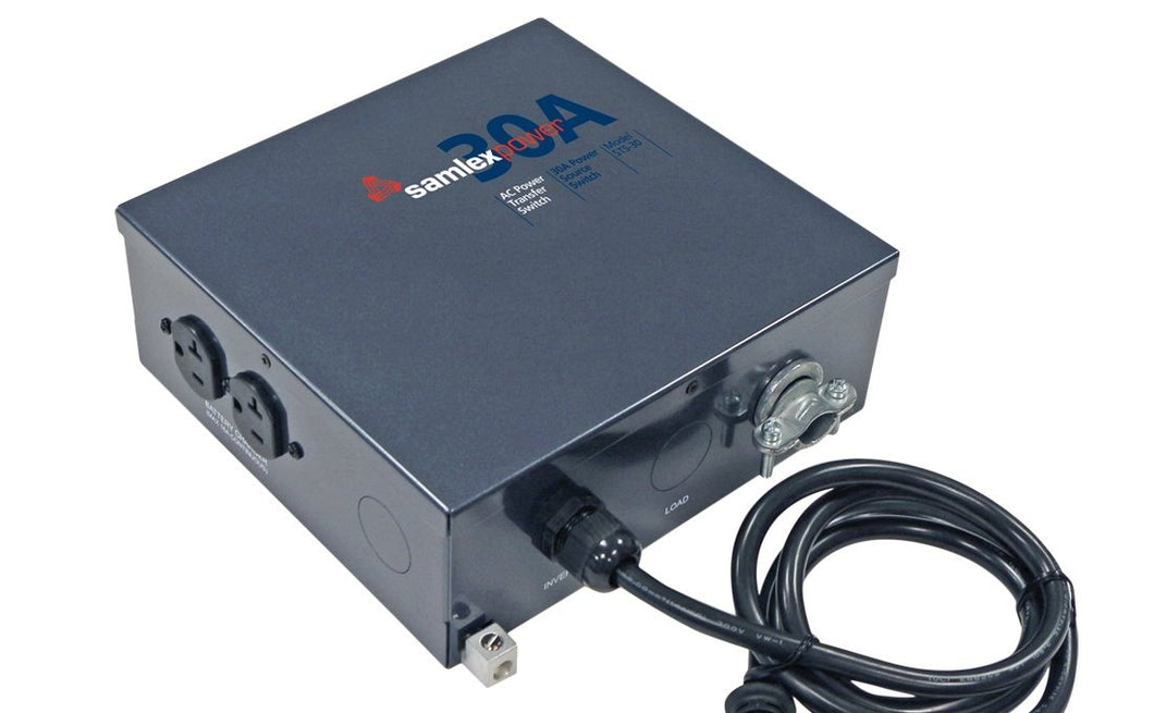 30 Amp Transfer Switch For Inverters