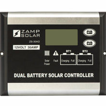 Load image into Gallery viewer, Zamp 30 Amp Digital Dual Battery Bank Solar Controller