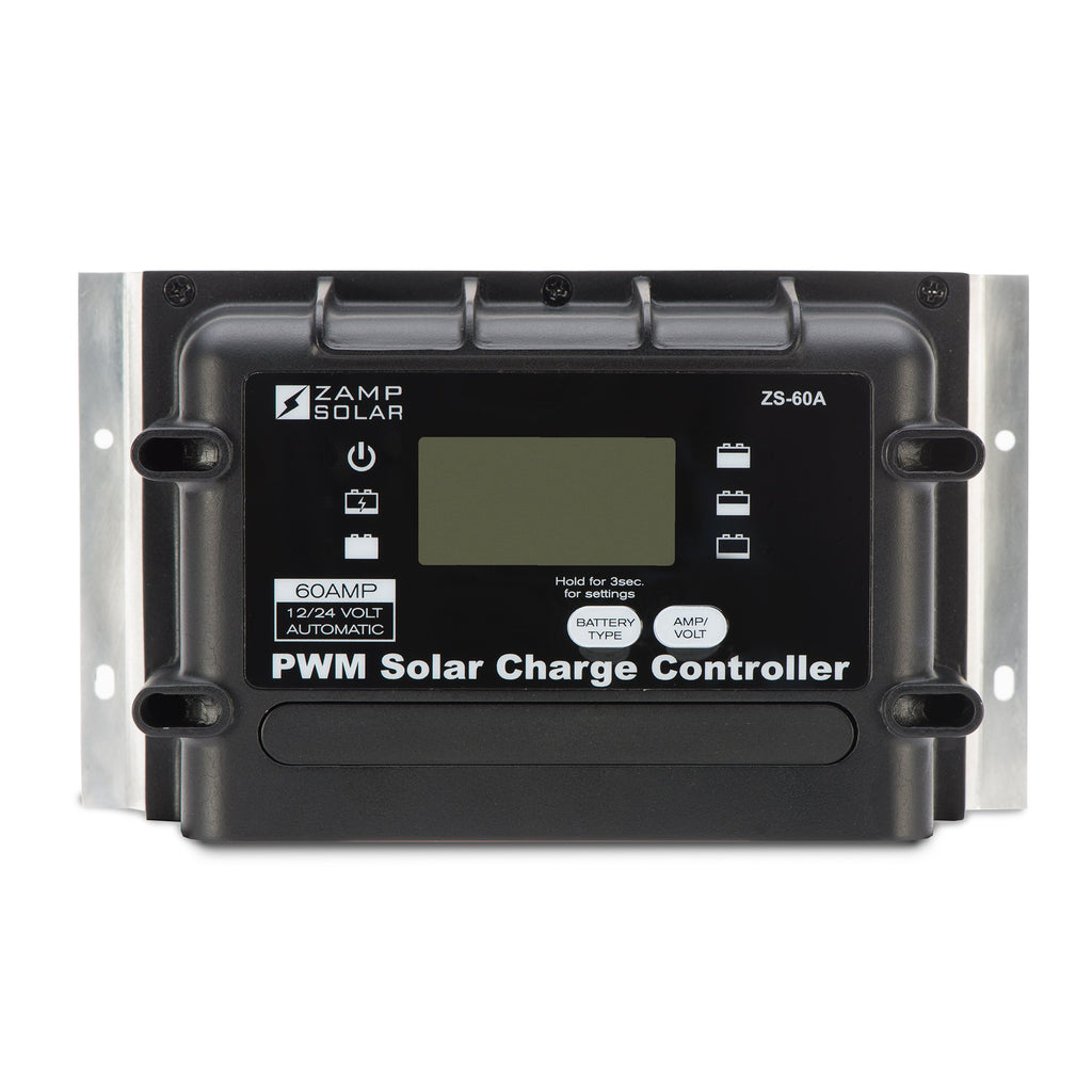 Zamp 60 Amp Digital Deluxe Solar Charge Controller – Back Country Solar