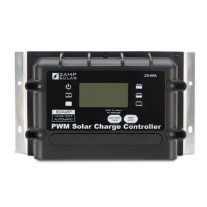 Zamp 60 Amp Digital Deluxe Solar Charge Controller