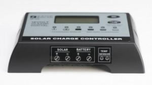 Zamp Digital Deluxe Solar Charge Controller 15 Amp Side