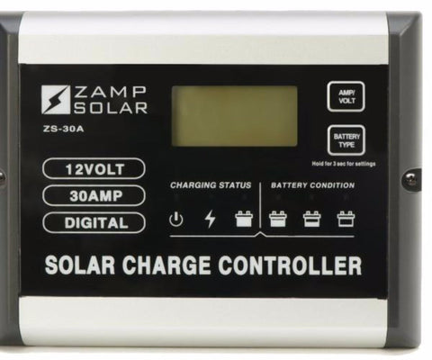 30 Amp Digital Solar Charge Controller