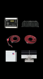 Zamp Solar 510 Watt Kit Contents